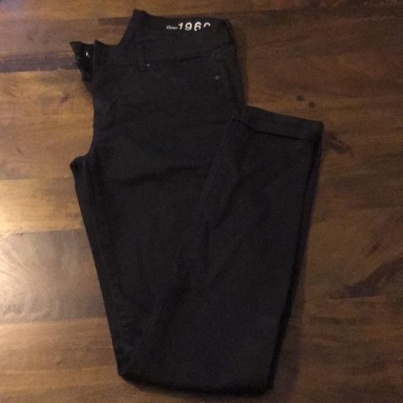 GAP Denim - Gap Legging Jeans. Black.